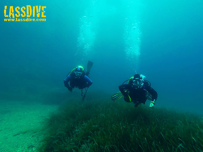 Try scuba diving for the first time with Lassdive's diving introductions
