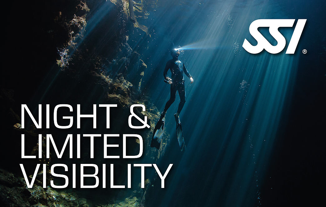 Night and Limited Visibility SSI freediving Specialty course in Costa Brava