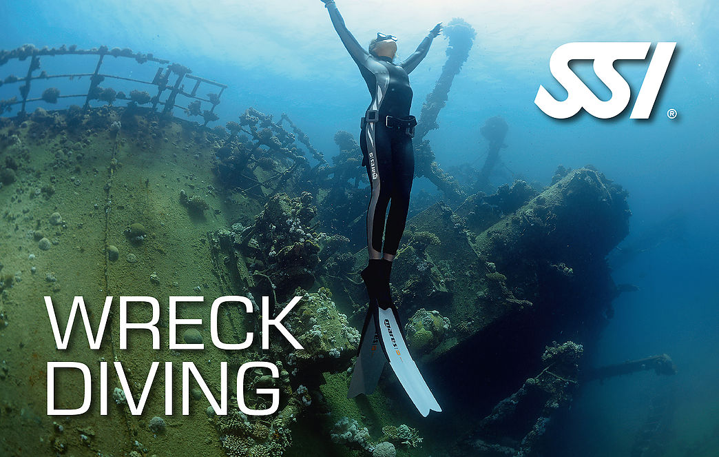 Wreck SSI freediving Specialty course in Costa Brava
