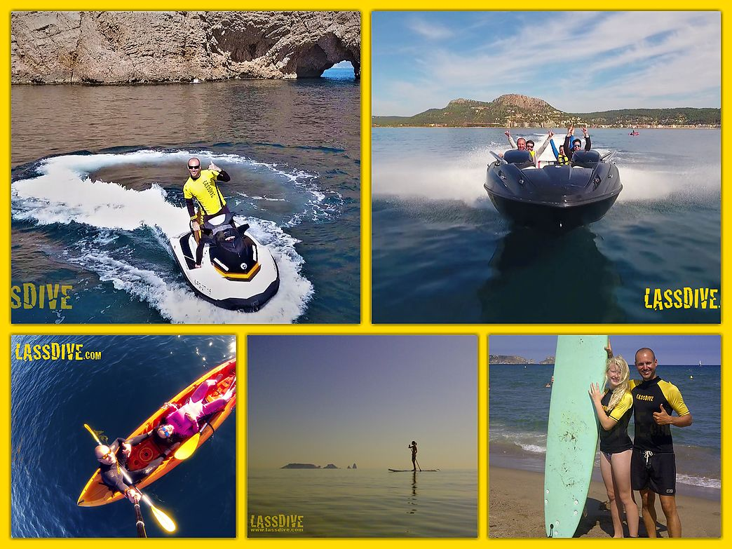 Lassdive's sports activities offer - Medes Islands pack