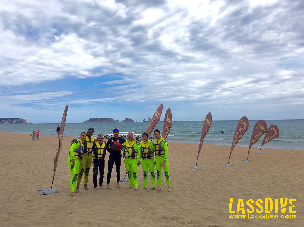 Team building for companies in Costa Brava with Lassdive