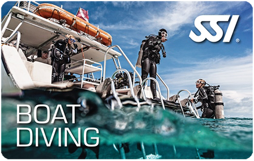 Boat Diving SSI Diving Specialty course in Costa Brava