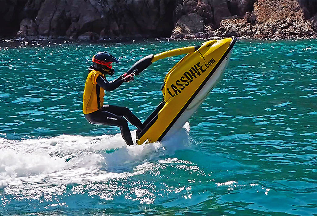 Single Jet Ski in Costa Brava