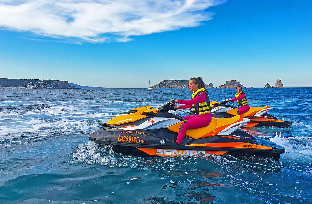Jet Ski rental in l'Estartit