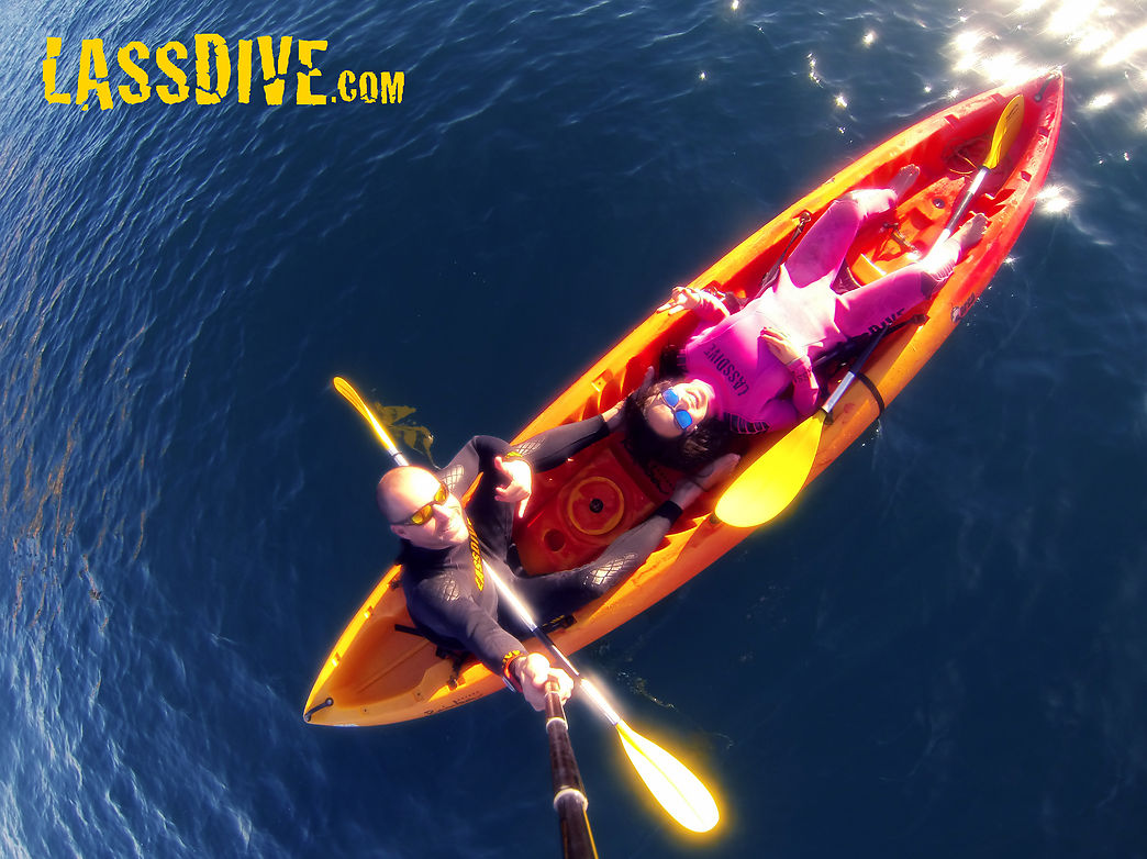 Kayak guided tours and trips in Costa Brava