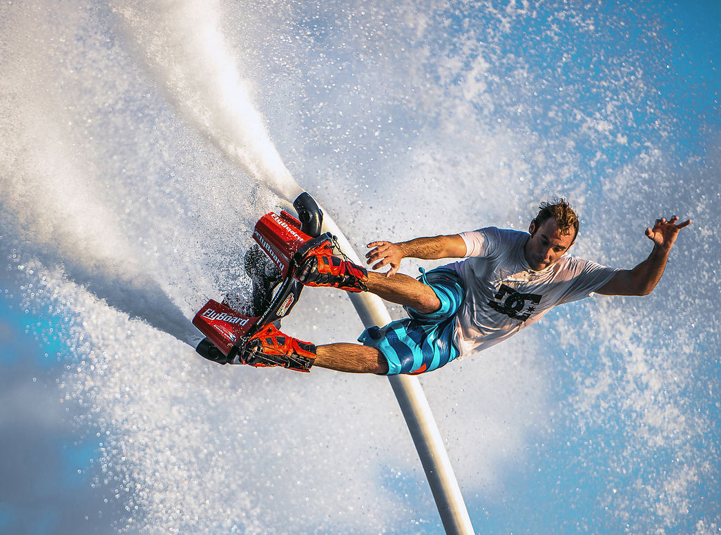 Flyboard in Costa Brava, fly like a superhero!!
