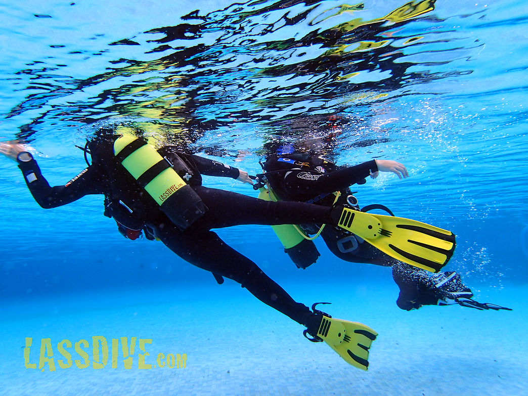 SSI Diving Rescue Diver course in Costa Brava