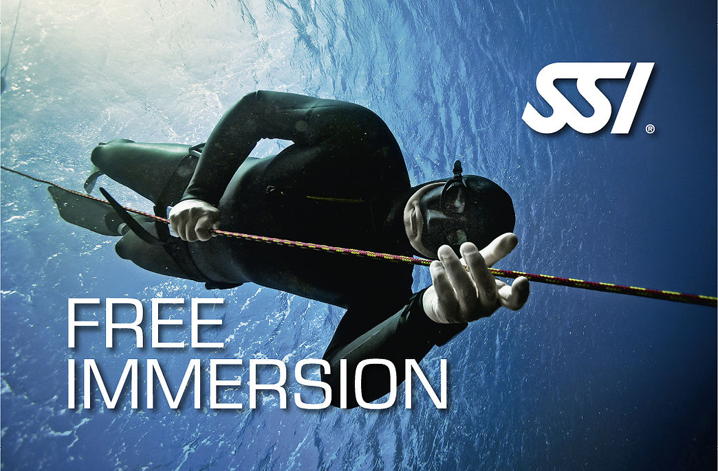 Free Immersion (FIM) SSI freediving Specialty course in Costa Brava