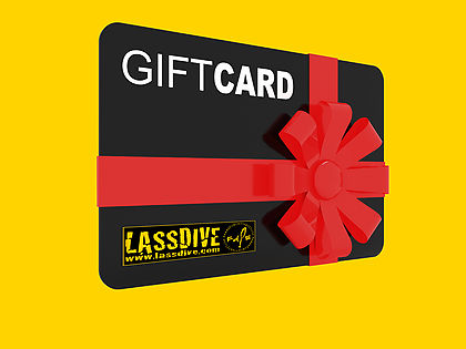 Lassdive's Gift Card, gift experiences and adventures