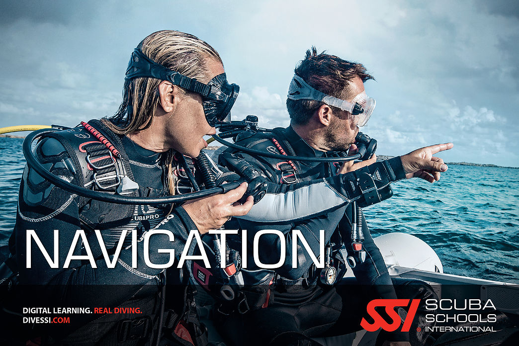 Navigation Diving SSI Specialty course in Costa Brava