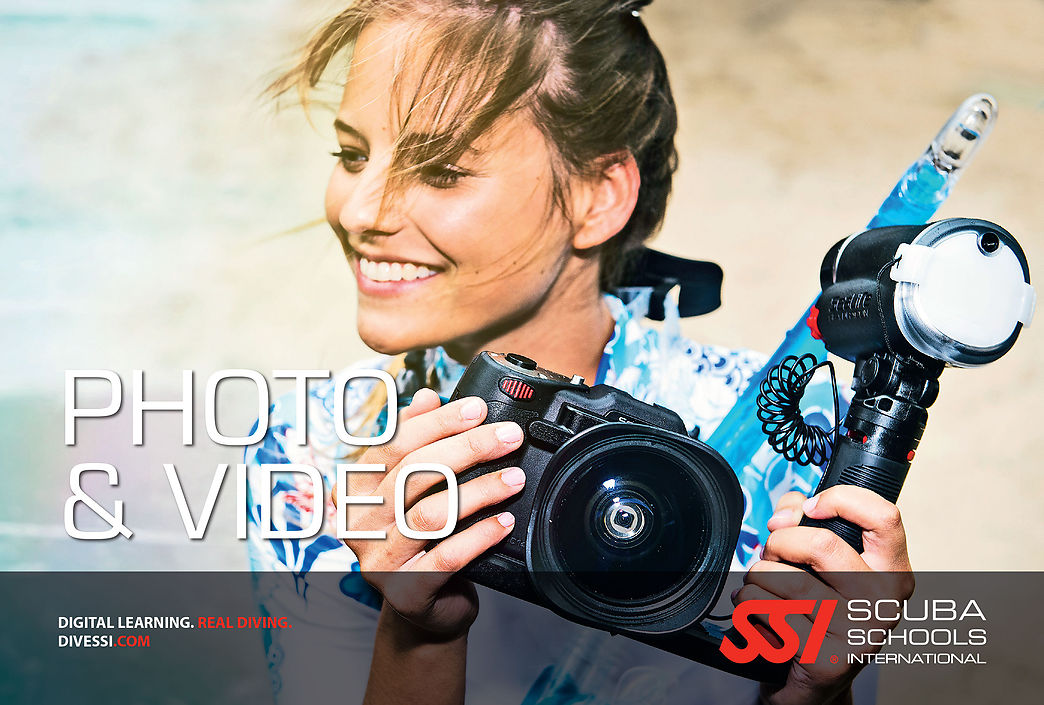 Underwater Photo&Video Diving SSI Specialty course in Costa Brava