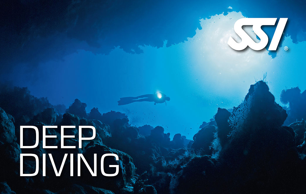 Deep Diving SSI Specialty course in Costa Brava