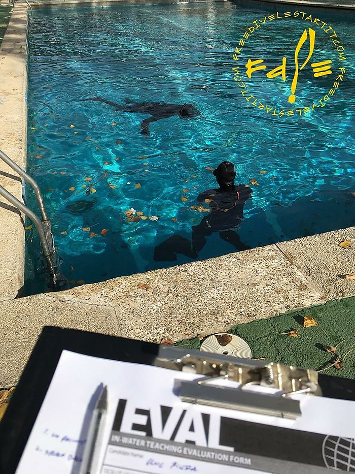 Freediving Basic Instructor course in Girona (Spain) with Freedive l'Estartit