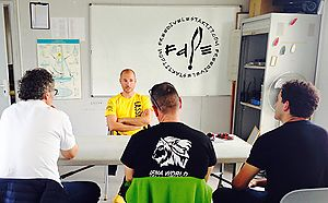 New students of SSI freediving Level 1 in Freedive l'Estartit