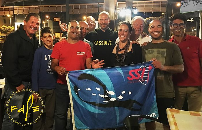 Freedive l'Estartit just finished teaching a freediving course in Madeira (Portugal)