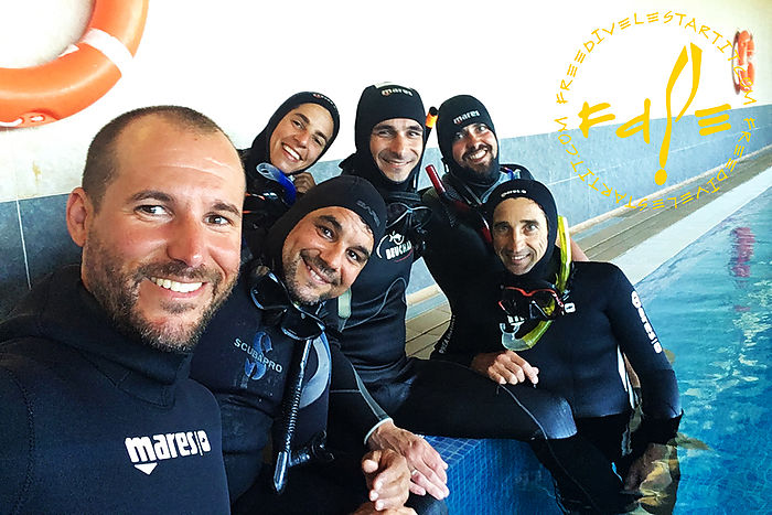 SSI Instructor Basic freediving course with Freedive l'Estartit