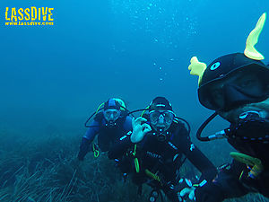 Scuba diving sessions in Lassdive are going to be the funniest dives of Costa Brava!