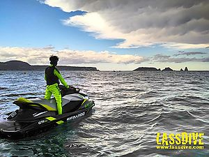 The quiteness of jetski tours in September