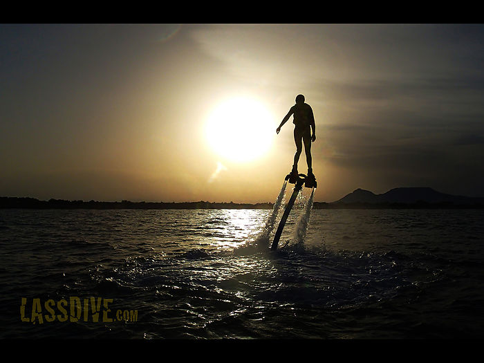 Lassdive, Flyboard at Costa Brava
