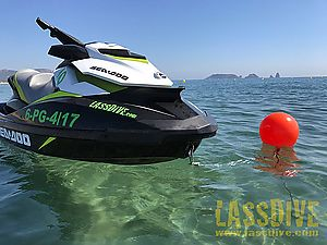 The fastest jet ski in Costa Brava