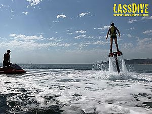 Flyboard, an exciting experience.