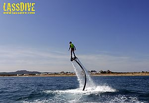 Flyboard; extreme sport and adventure