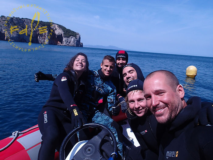 Freedive l'Estartit - SSI freediving instructor course