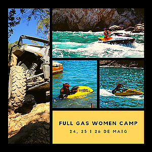 Have you already signed up for the Full Gas Women Camp?