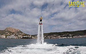 Flyboard in Catalonia