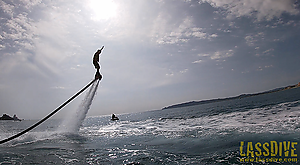 You haven't tried yet the flyboard?