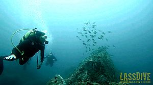 Scuba diving on the Costa Brava