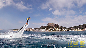 ¿What is that flying thing? A Flyboard!