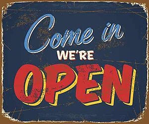 We are already open!!
